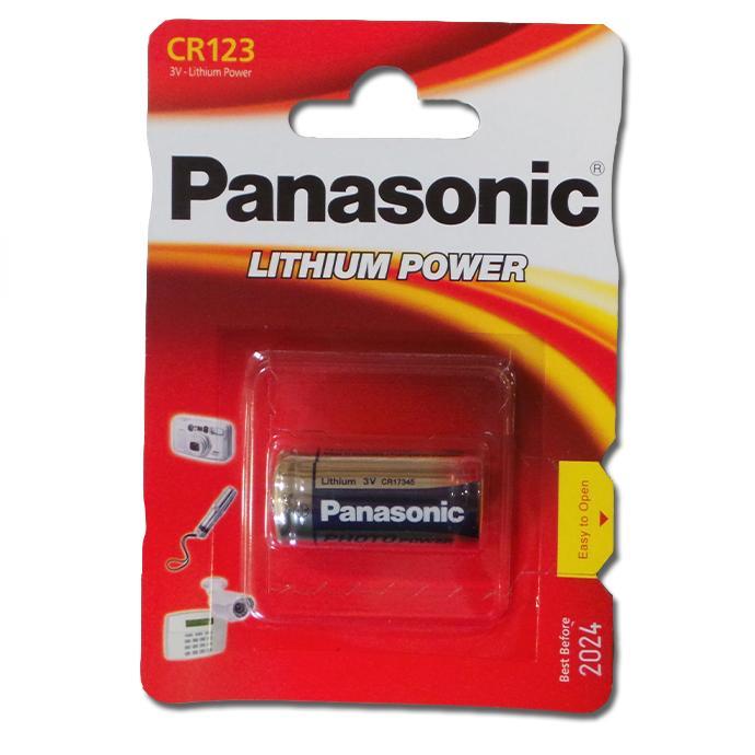 Baterie 123 Panasonic, 1 ks (blistr)