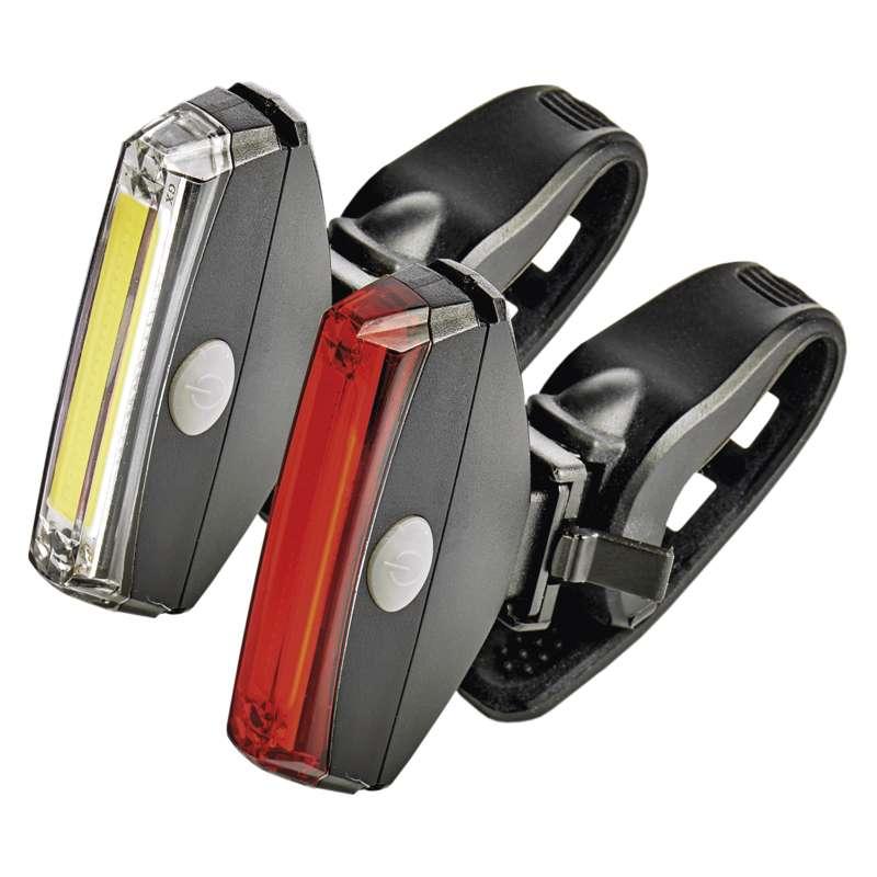 Cyklosvítilny EMOS, LED světla přední + zadní, set