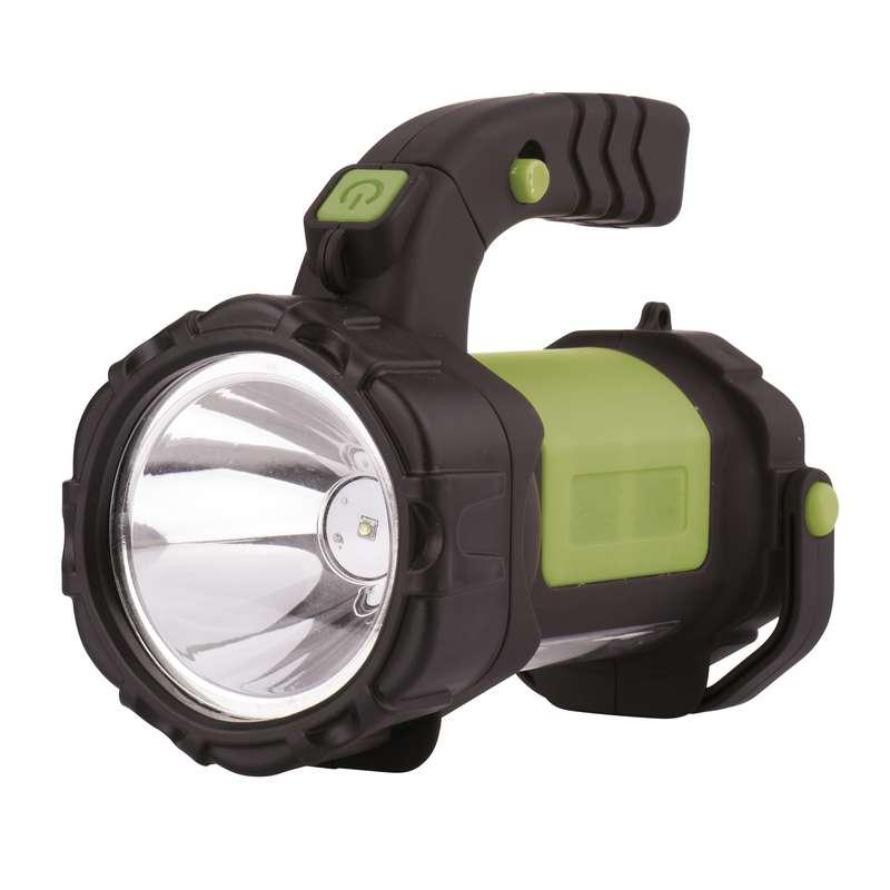 Nabíjecí svítilna LED E208A, 3W CREE + 12x LED