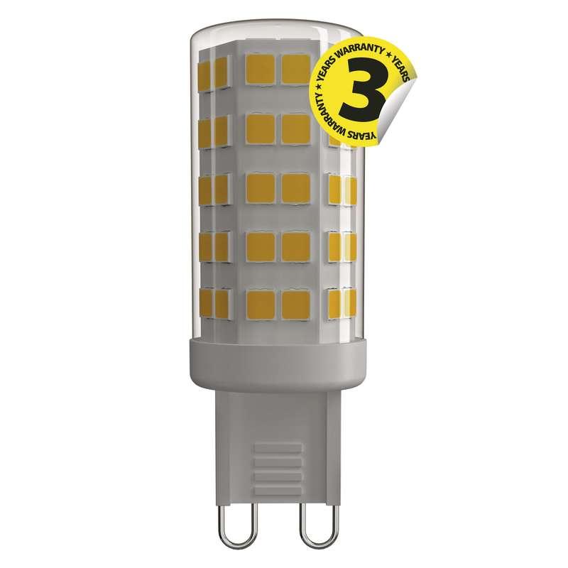 LED G9 4,5W, EMOS, neutrální bílá