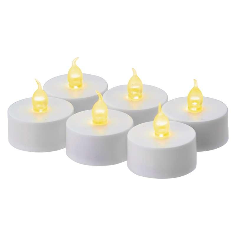 Čajové LED svíčky EMOS, bílé
