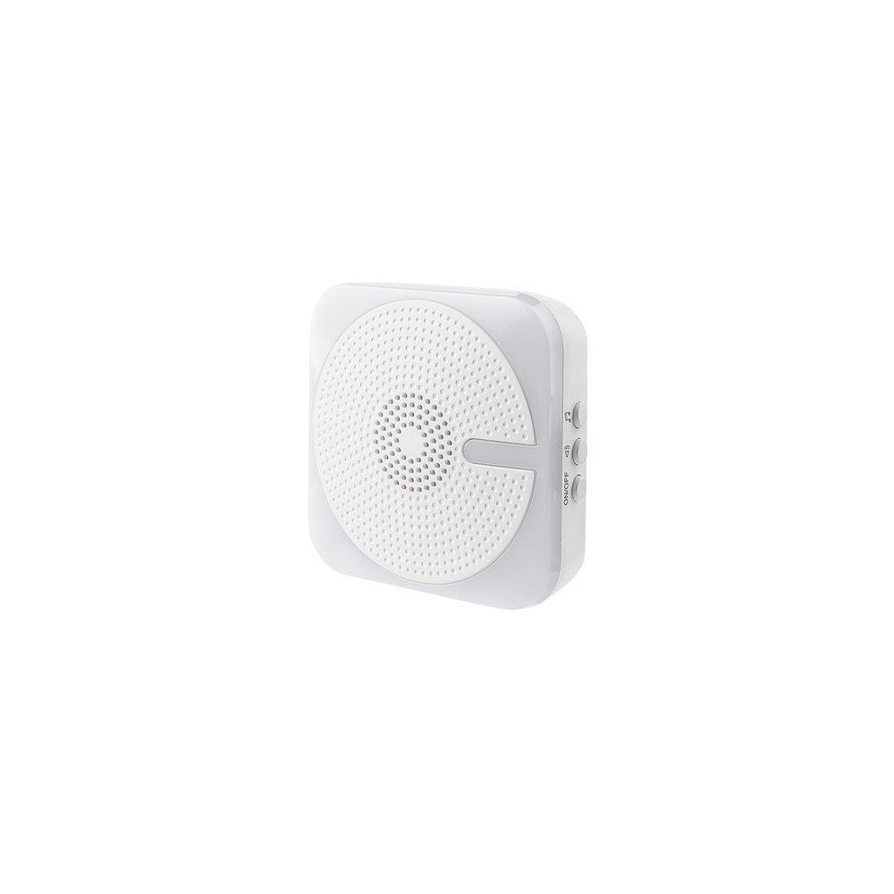 Solight bezdrátový zvonek, do zásuvky, 200m, bílý,světelná signalizace, learning code