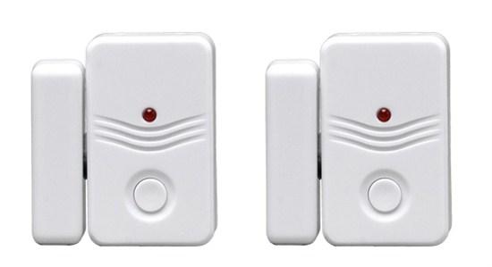 Solight doplňkové dveřní / okenní senzory 2ks pro GSM alarmy 1D11 a 1D12