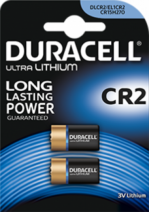 Baterie CR2 DURACELL ULTRA PHOTO, 2 ks (blistr)