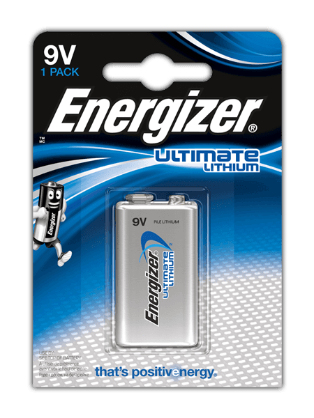 Baterie 9V Energizer LITHIUM, 1ks (blistr)