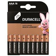 Baterie AAA/LR03 DURACELL BASIC, 18 ks (blistr)