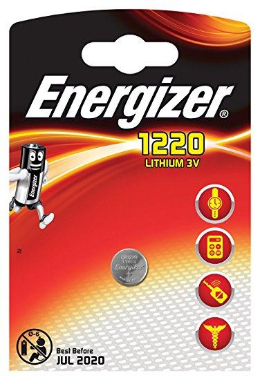 Baterie CR1220 ENERGIZER, 1 ks (blistr)