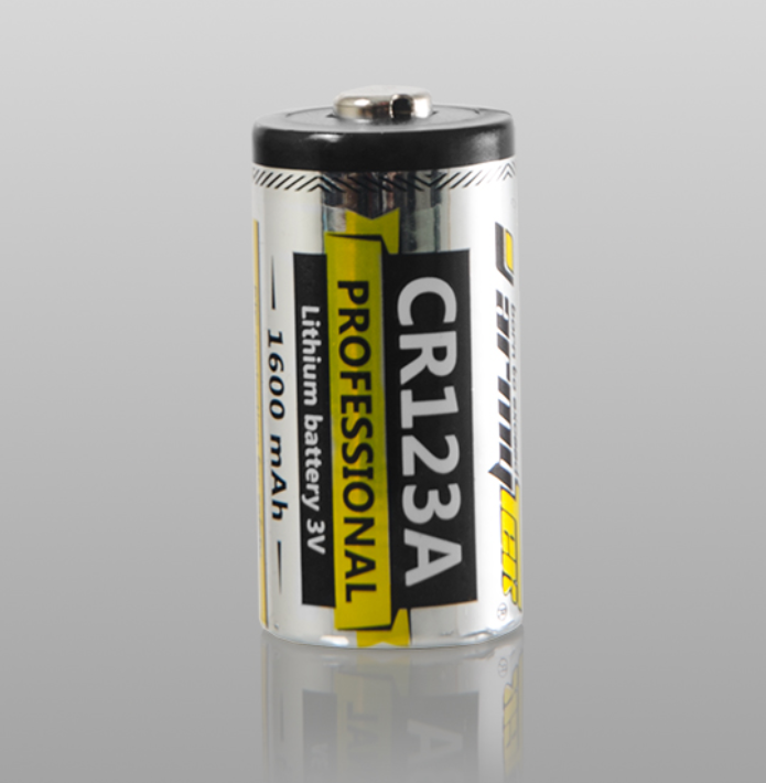 Baterie CR123A Armytek 3V PROFFESIONAL 1600mAh