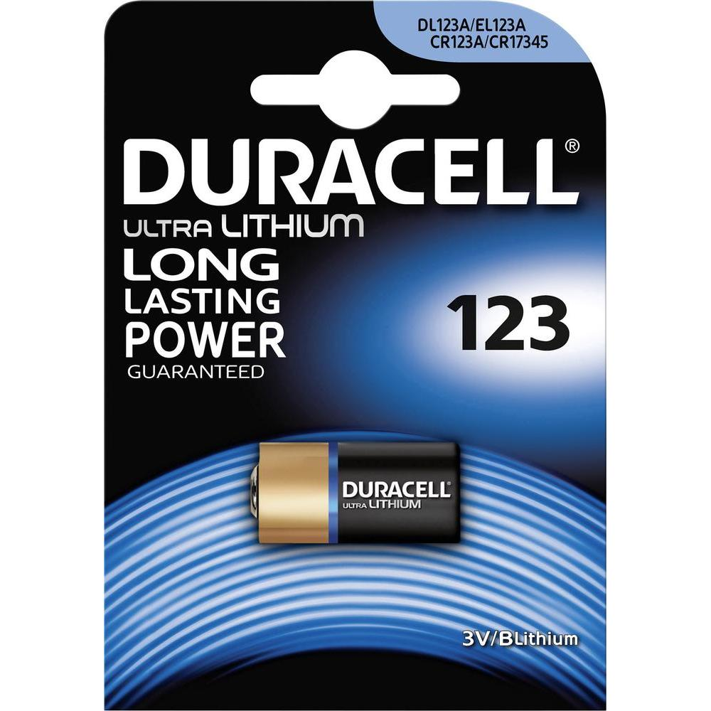 Baterie CR123 DURACELL HIGH POWER LITHIUM, 1 ks (blistr)