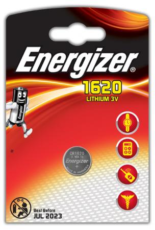 Baterie CR1620 ENERGIZER, 1 ks (blistr)
