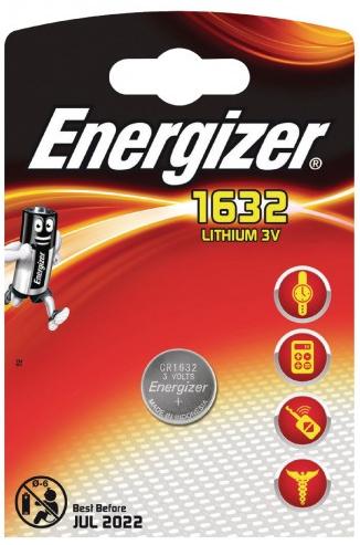 Baterie CR1632 ENERGIZER, 1 ks (blistr)