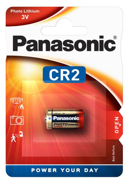 Baterie CR2 Panasonic Lithium Power 3V