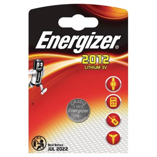 Baterie CR2012 ENERGIZER, 1 ks (blistr)
