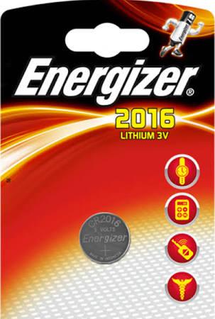 Baterie CR2016 ENERGIZER, 1 ks (blistr)