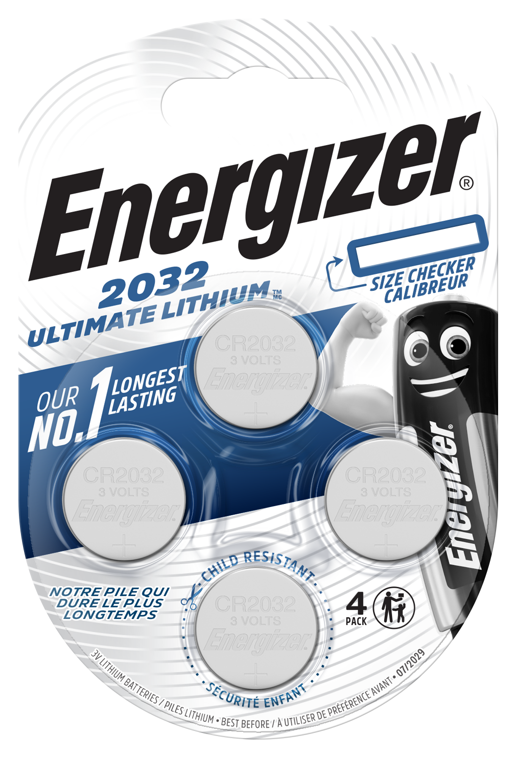Baterie CR2032 ENERGIZER Ultimate Lithium 4 ks (blistr)