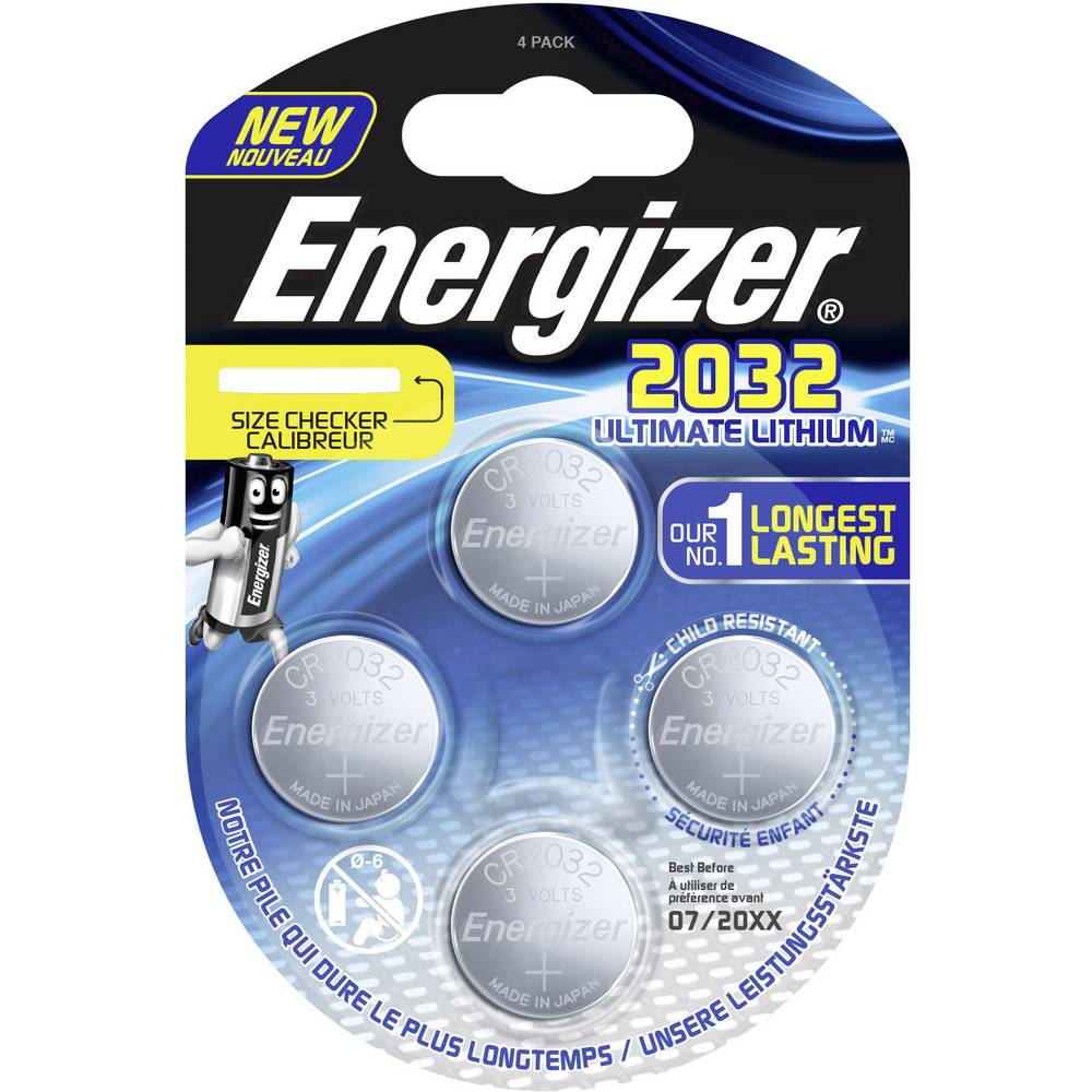Baterie CR2032 Energizer Ultimate Lithium 4ks (blistr)