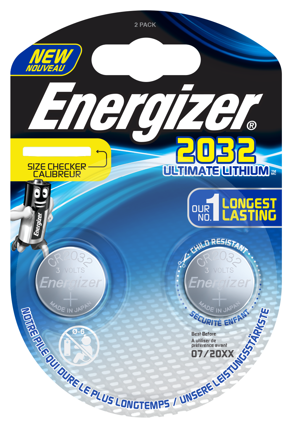 Baterie CR2032 Energizer Ultimate Lithium 2ks
