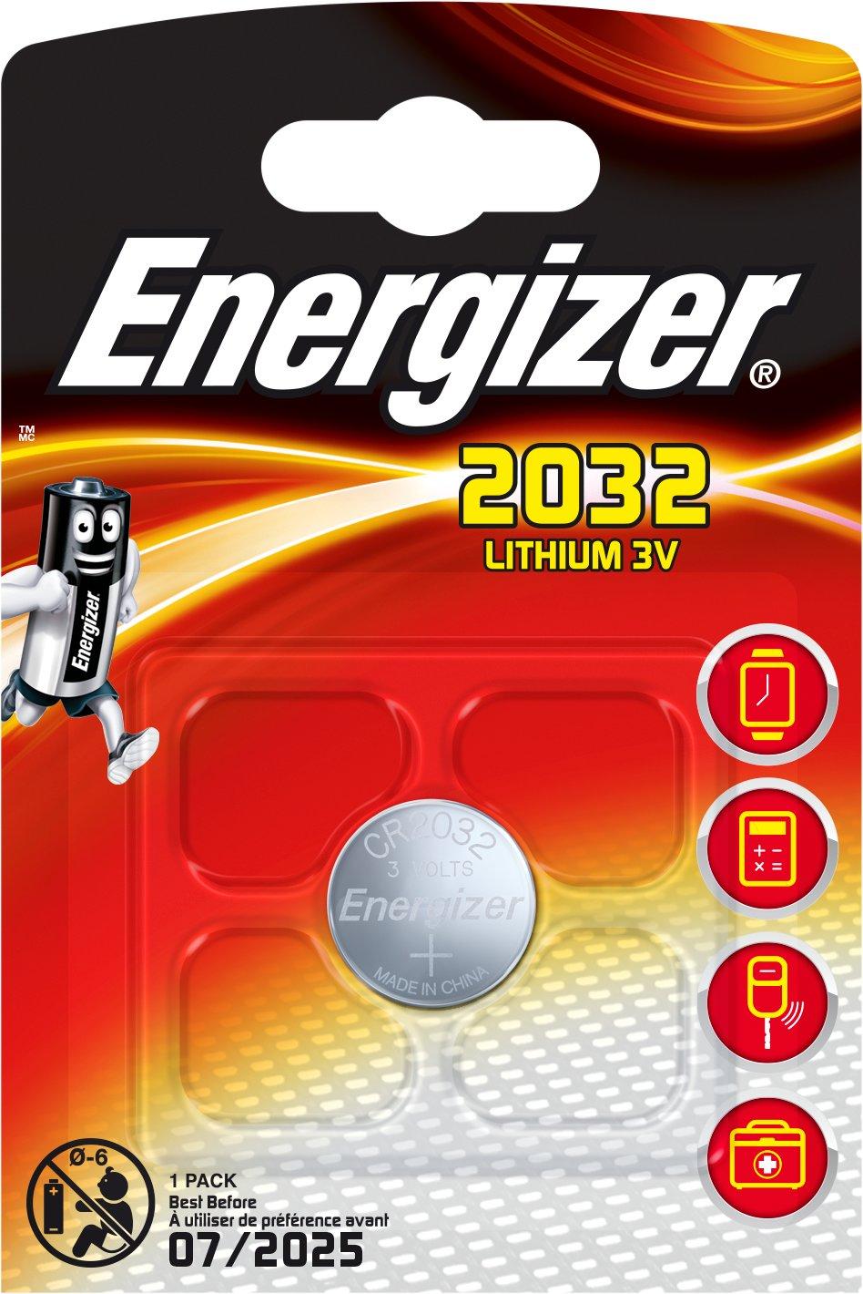 Baterie CR2032 ENERGIZER, 1 ks (blistr)