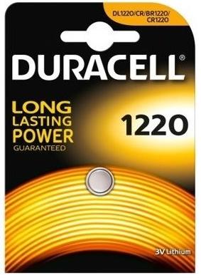 Baterie CR1220 DURACELL, 1 ks (blistr)