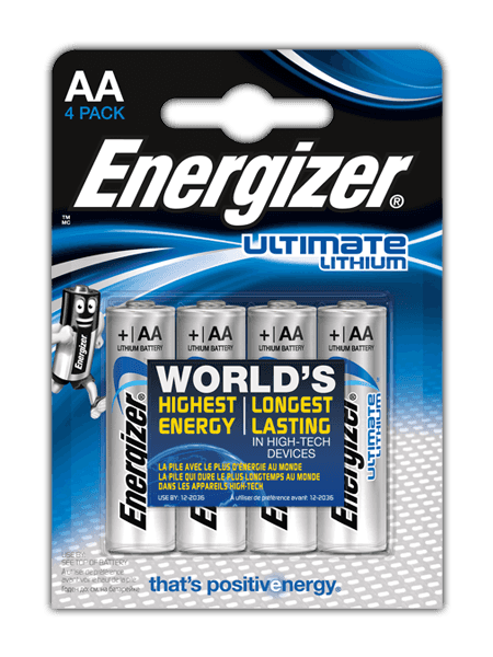 Baterie Energizer Ultimate LITHIUM FR6 AA 4 ks