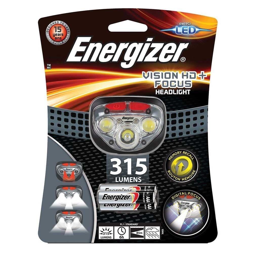 Energizer LED čelovka VISION HD+ FOCUS 315lm