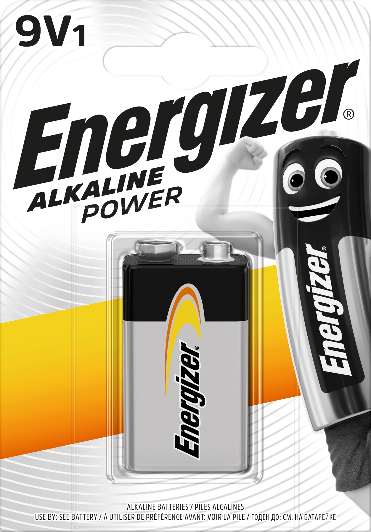 Baterie 9V ENERGIZER Power, 1ks (blistr)