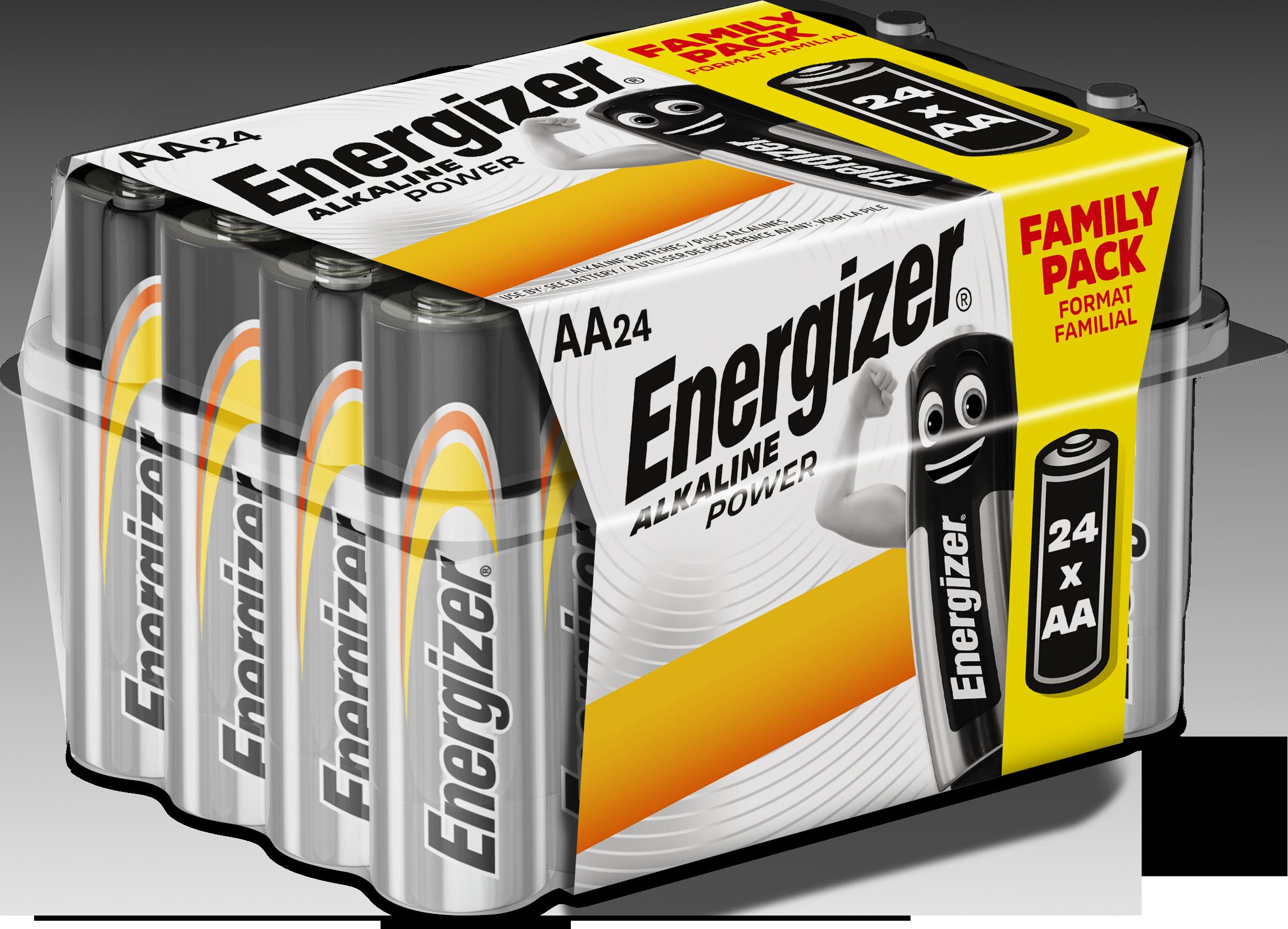 Baterie AA/LR6 ENERGIZER Alkaline Power 24 ks