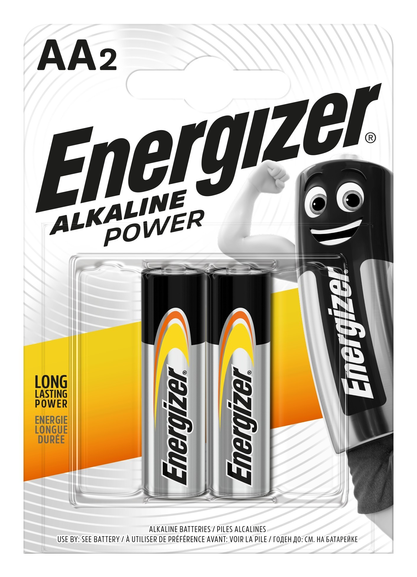 Baterie AA/LR6 ENERGIZER Power, 2 ks (blistr)