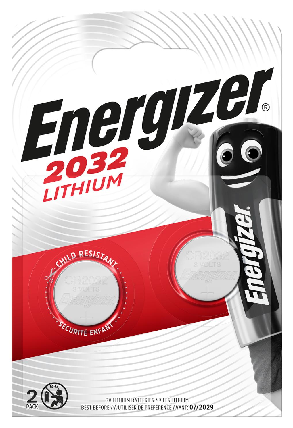 Baterie CR2032 ENERGIZER, 2 ks (blistr)
