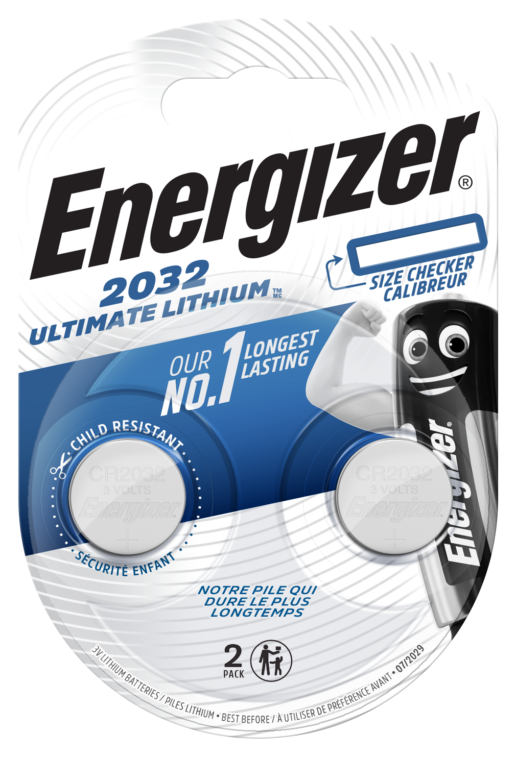 Baterie CR2032 ENERGIZER Ultimate Lithium 2 ks (blistr)