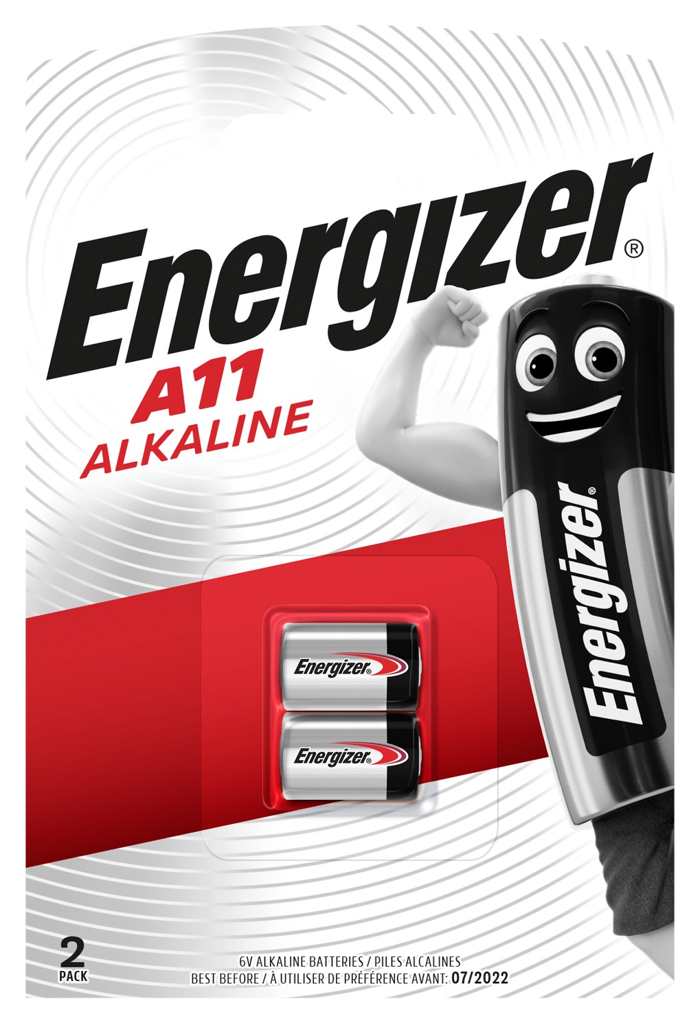 Baterie E11A ENERGIZER, 2 ks (blistr)