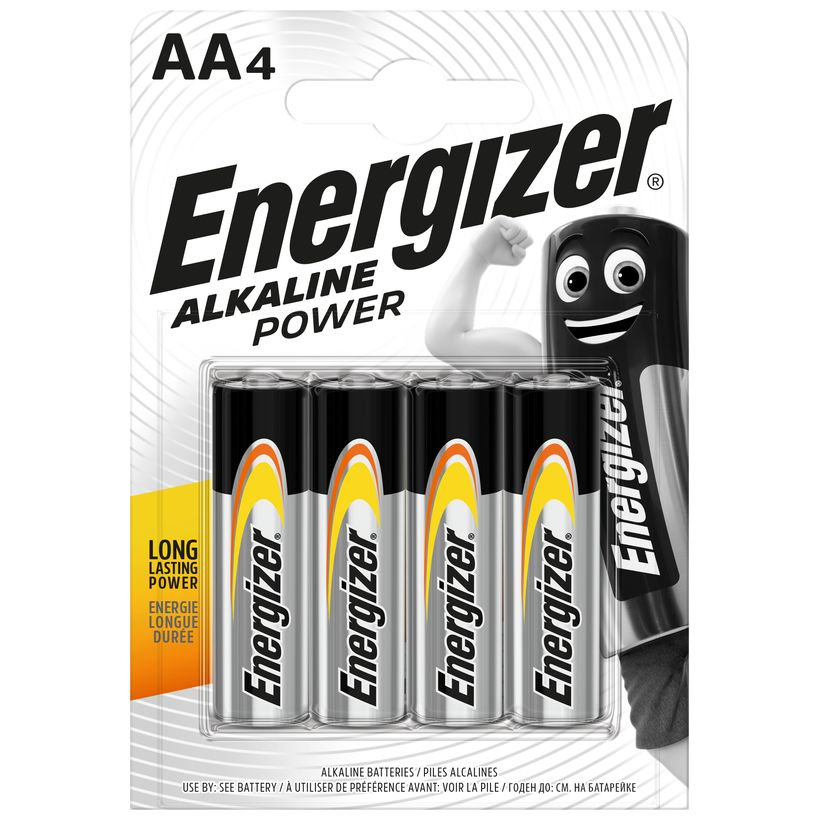 Baterie AA/LR6 ENERGIZER Power, 4 ks (blistr)