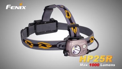 Nabíjecí čelovka Fenix HP25R
