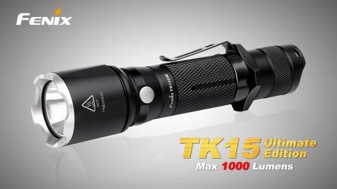 Taktická LED svítilna Fenix TK15 Ultimate Edition