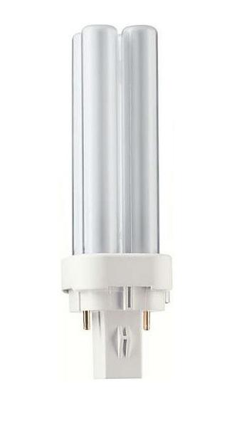 Zářivka PHILIPS 26W G24d-3, 4000K, 2P