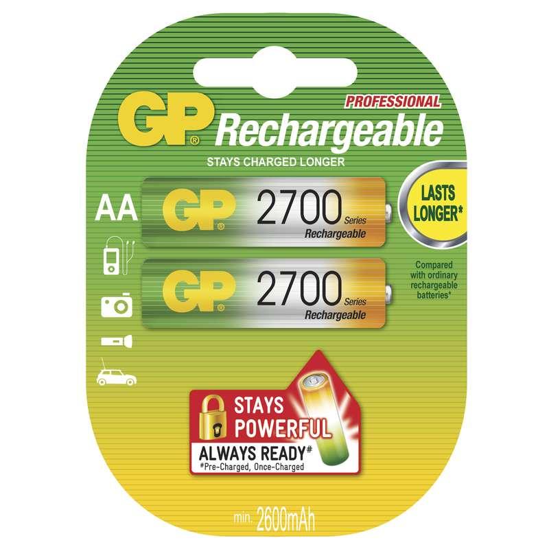 Baterie AA 2700mAh GP, 2 ks (blistr)
