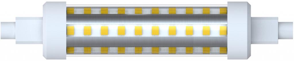 LED lineární žárovka R7S 10W 118mm, 4200K, 1000lm, SKYLIGHTING