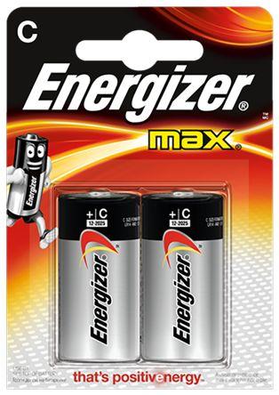 Baterie LR14/C ENERGIZER MAX, 2 ks (blistr)