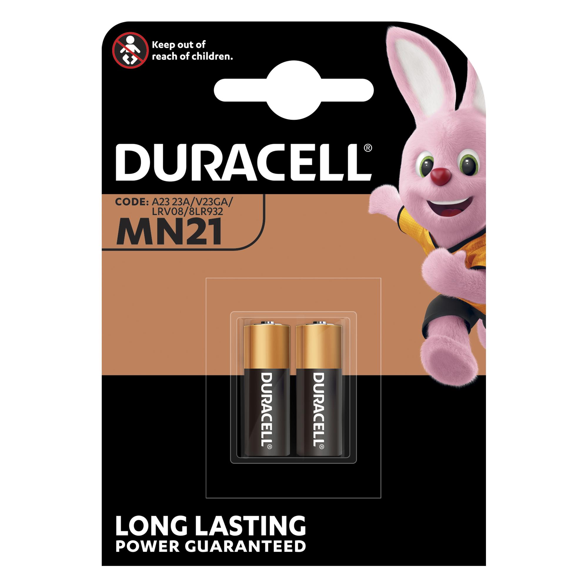 Baterie A23/MN21 DURACELL Security, 2 ks (blistr)