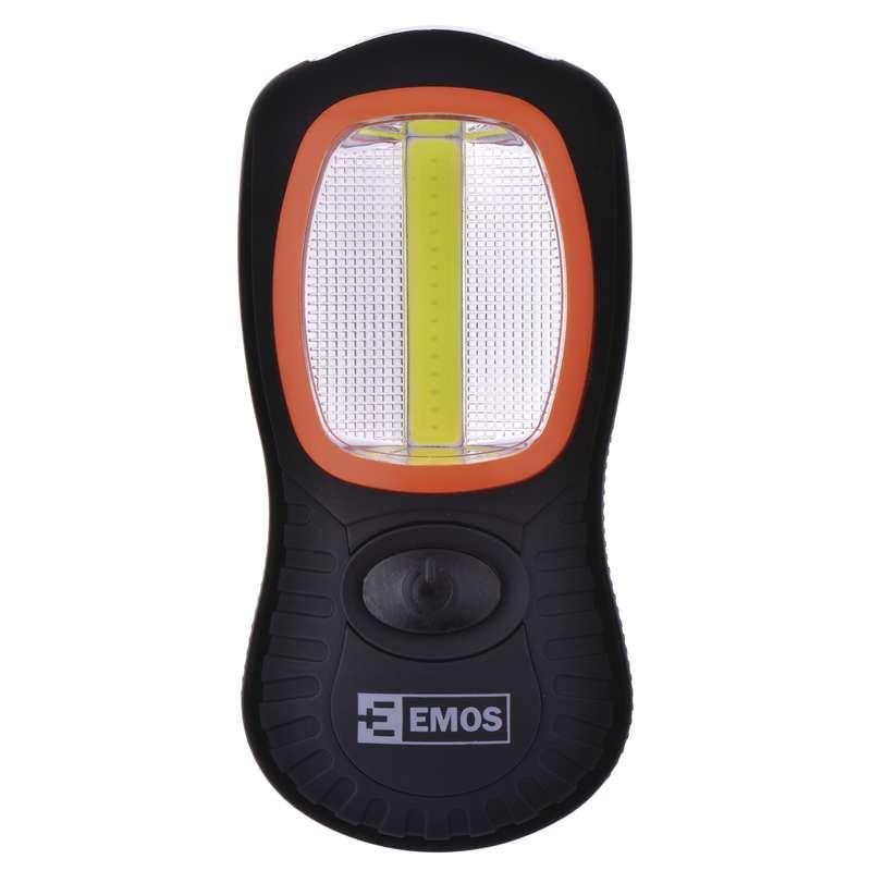 LED svítilna EMOS, 3W COB LED+ 3×LED, 150lm