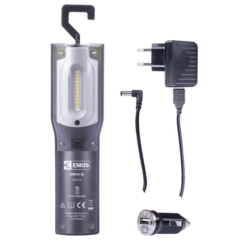 Nabíjecí svítilna LED 5W SMD+UV, E4015-3L