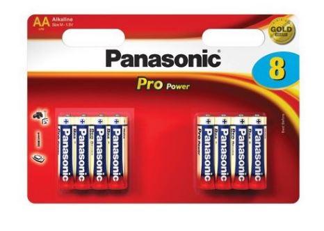Baterie Panasonic Pro Power AAA, LR03 8ks
