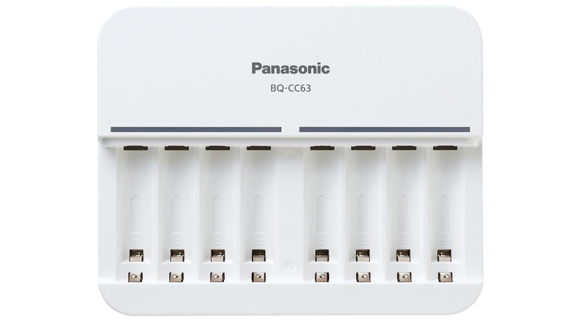 Nabíječka Panasonic BQ-CC63E - osmikanálová