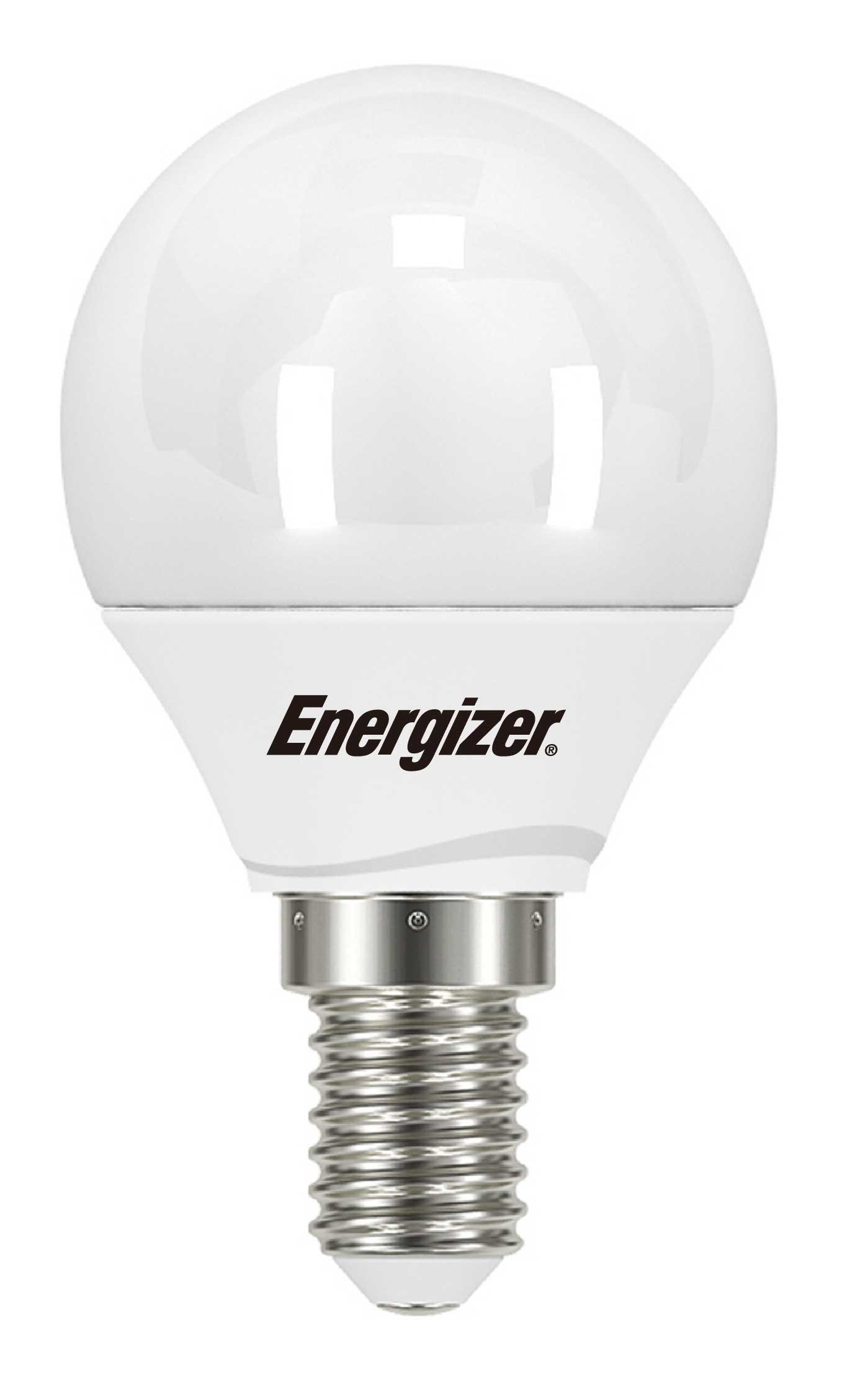 LED mini globe 5,9W (40W) E14, ENERGIZER, teplá bílá
