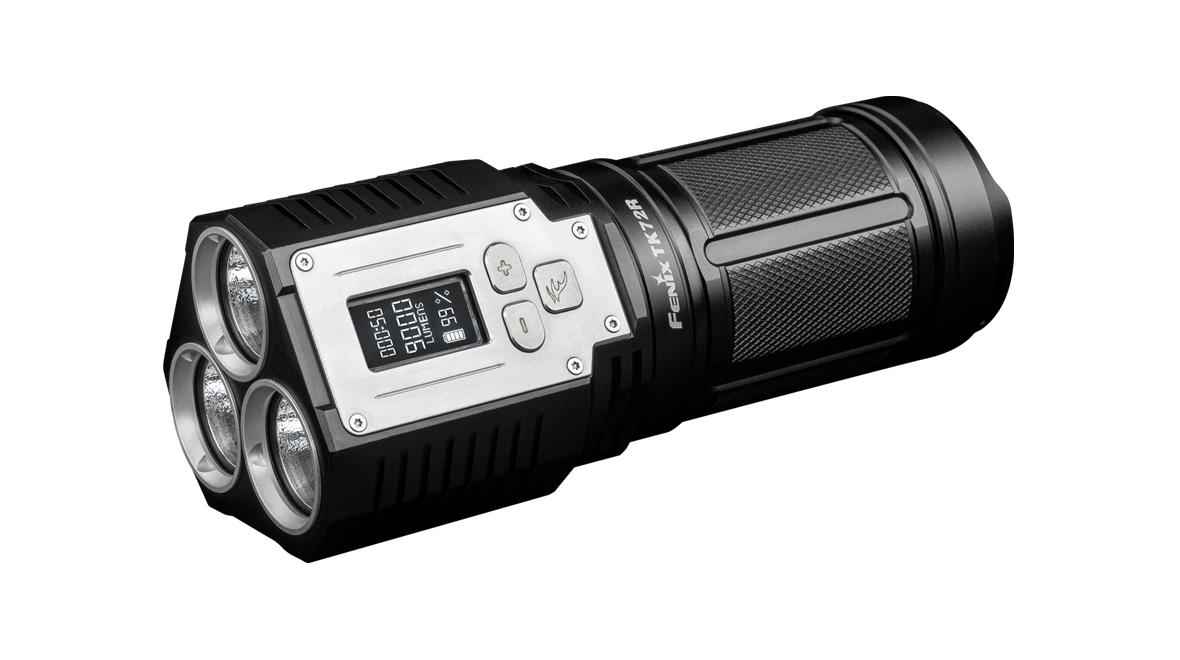 LED svítilna nabíjecí Fenix TK72R, 9000lm