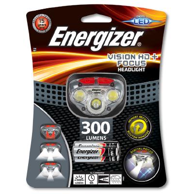 Energizer LED čelovka VISION HD+ FOCUS 300lm
