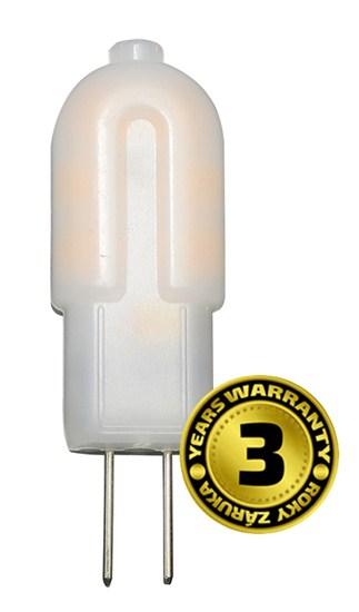 LED G4 1,5W, SOLIGHT, teplá bílá