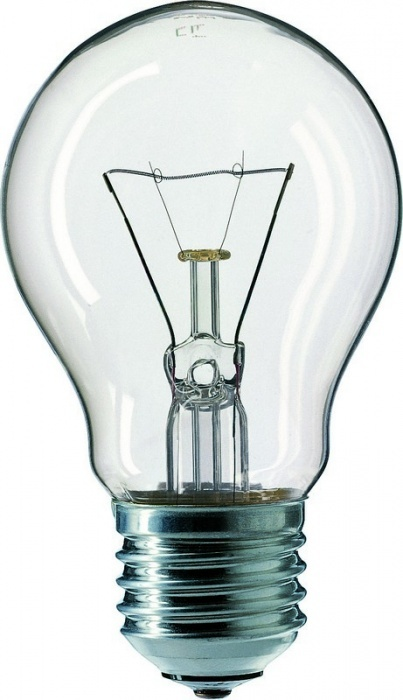 Žárovka 100W E27, NARVA, klasická, čirá, otřesuvzdorná