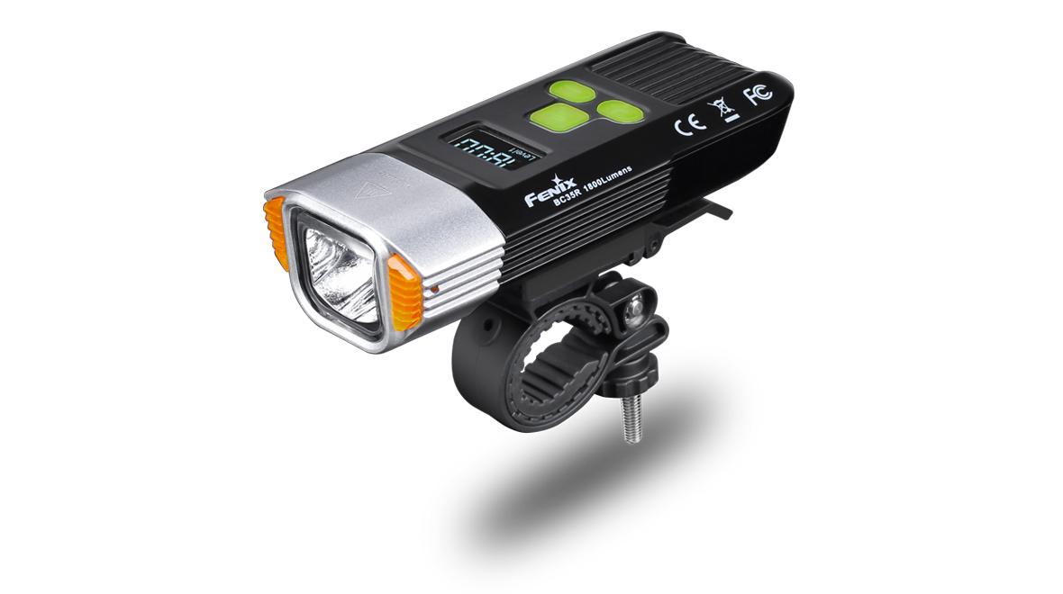 Nabíjecí cyklosvítilna Fenix BC35R (1800lm), alarm