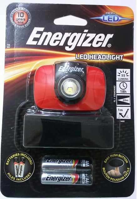Energizer LED čelovka 1 LED 55lm